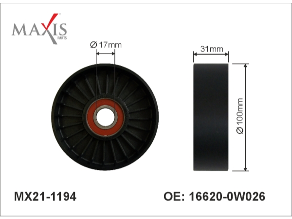 Maxis Parts Stramhjul 2JZ - MX21-1194 (16620-0W026)