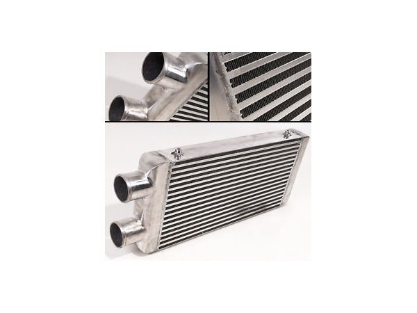 "Intercooler 600x300x76mm 3"" Samme Side"
