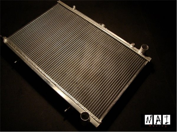 Aluminum Radiator EVO 8 52mm
