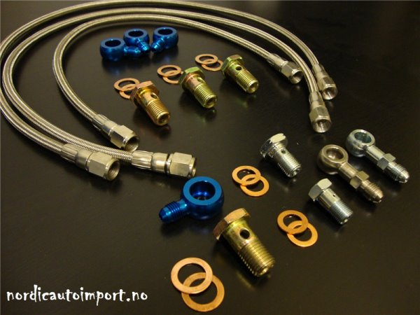Turbo Slange Kit SR20DET (Top Mount)