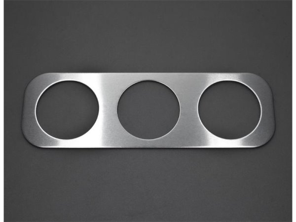 NAI Racing Målerplate S13 3x52mm