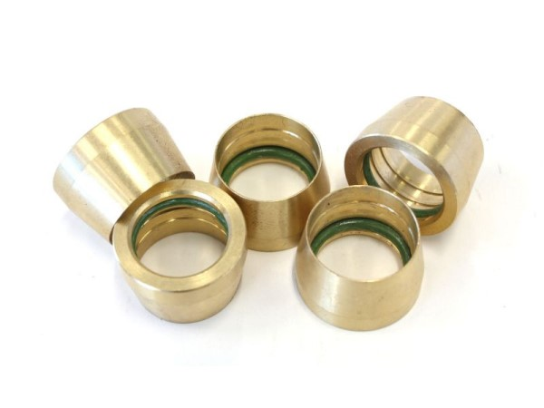 AC Brass Olive Fittings AN8
